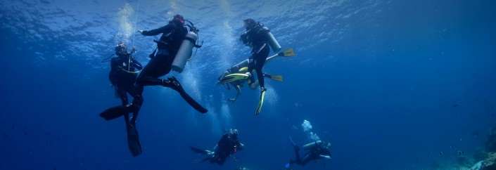 How to consume less air while scuba diving