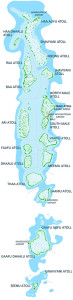 Map of Maldives