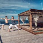 Yoga, pilates and meditation lessons